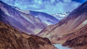 ountains of leh and ladakh